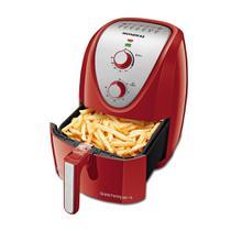 Fritadeira Mondial Sem Óleo Air Fryer AF-50-RI Grand Family 5 Litros Vermelho/Inox -