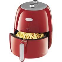 Fritadeira Philco Air Fry Retrô, 4L, Base antiderrapante , Vermelho - 220V -