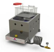 Fritadeira PR-10 G Fritador Gás 1 Cuba - PROGÁS -