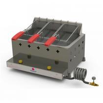 Fritadeira Progás PR30 G G2 A Gás 3 cestos -