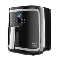 Fritadeira Sem Oleo 110V 1900W Air Fry Gourmet Black Plus PFR16P Phil - Philco