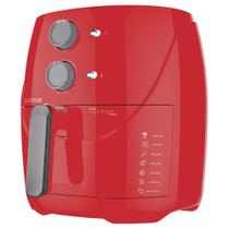 Fritadeira Sem Óleo 3,2L Cadence Super Light Fryer Colors Vermelha 127V -