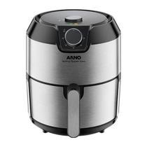 Fritadeira Sem Óleo Air Fryer Arno Super IFRY 4,2 Litros Inox 220V -