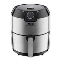 Fritadeira Sem Óleo Air Fryer Arno Super IFRY 4,2 Litros Inox -