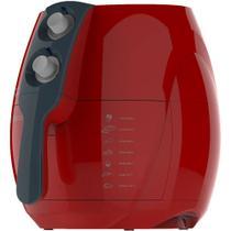 Fritadeira Sem Óleo Light Fryer Frt541 Cadence 127 Vermelha -