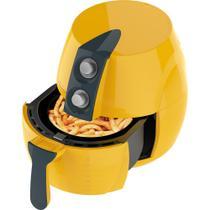 Fritadeira sem Oléo + Liquidificador Amarelo - Cadence -