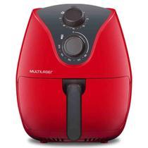 Fritadeira Sem Óleo Multilaser air fryer 4 litros Ce084 Vermelha 220v -