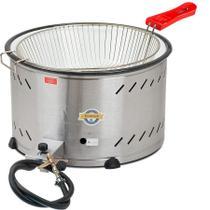 Fritadeira Tacho a Gás Industrial Marchesoni 7,5 Litros -