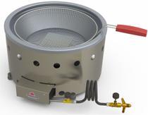 Fritadeira Tacho A Gás Progás 7 Litros Aço Inox  Pr-70G G2 - Progas