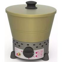Fritadeira Tacho Fritador Elétrico Progás 1 Litro Aço Inox 220V -