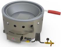Fritadeira Tacho fritura 07 litros à gás marca Progás PR 70G -