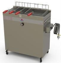 Fritador água e óleo a gás baixa pressão pr-3000bpg progás -