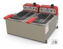Fritador Batata Progás Pr20e 10l Elétrica 2 Cubas - Progas