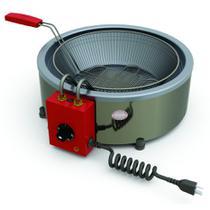 Fritador Elétrico Progás Inox 7 Litros com 1 Cesto PR-70E -