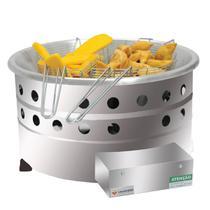 Fritador Fritadeira Tacho A Gás 7 Litros Industrial Venâncio - Venancio