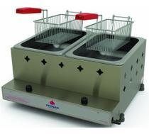 Fritador Fritadeira Tacho Profissional 02 Cestos Progas Pr-20g -