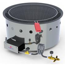 Fritador Pasteleiro a Gás Progás Mesa Alta Pressão 14 Litros PR-14 G -