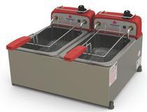 Fritador Retangular 2 cestos 2x4 L óleo Progás PR20E G2 -
