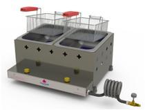 Fritador Retangular Fritadeira PR-20G G2 Gás - PROGÁS -