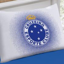 Fronha Avulsa Buettner Estampada Malha Clube Cruzeiro Azul -