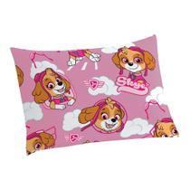 Fronha Avulsa Infantil Microfibra Estampada Patrulha Canina - Skye - Lepper