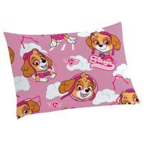 Fronha Avulsa Microfibra Lepper Patrulha Canina Menina - Companhia Fabril Lepper