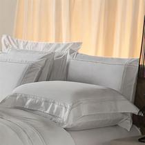 Fronha Avulsa  Plumasul Premium Harmonious 230 Fios 50x70cm Branca -