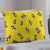 Fronha Infantil Menino Disney Mickey 90 Anos Portallar 1 Peça -