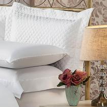 Fronha Para Travesseiro 50x90Cm Matelasse Soft Touch Branca Plumasul -