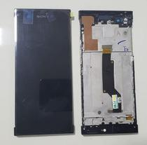 Frontal Lcd Touch Xperia Xa1 Mini 5.0 G3112 G3116 Com Aro Original - Sony