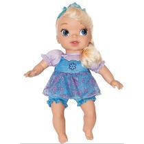 Frozen-boneca baby elsa com cabelo mimo 6455 -