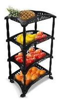 Fruteira De Cozinha 4 Andar Com Roda 89cm Plastico Envio 24h - Arqplast
