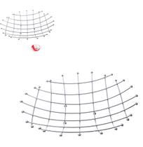 Fruteira de mesa aramado cromado redonda 35cm0 wx4824 wellmix -