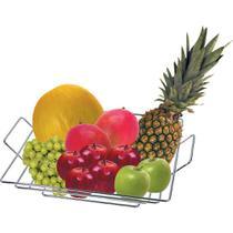 Fruteira de Mesa Cromada Line Art Cook Arthi -