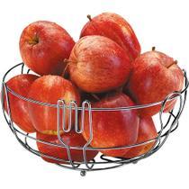 Fruteira de Mesa Cromado Querida Arthi -