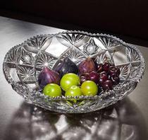Fruteira de vidros redonda larous bm1071 - Dg Glass
