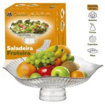 Fruteira e Saladeira com Pé Ruvolo -