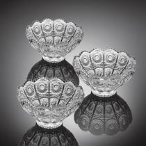 Fruteira jogo com 6 peças mey-ji 10 cm vidro - Noritazeh