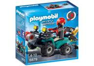 Fugitivo com Quadriciclo Playmobil  6879 -