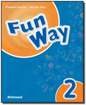 Fun way 2: livro do aluno + multirom + best friend - Moderna - didaticos