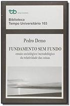 Fundamento sem fundo: ensaio sociologico-metodolog - Tempo brasileiro
