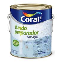 Fundo preparador de paredes base água - 3,6l coral -