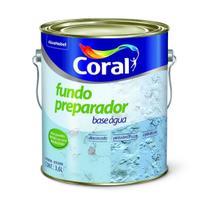 Fundo Preparador Incolor Base Água 3.6 litros - Coral -