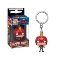 Funko Pocket Pop Keychain: Captain Marvel (Masked) - Captain Marvel - Aliança Geek