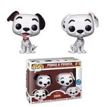 Funko Pop 2 Pack Dalmatas Pongo e Perdita Disney Exclusivo -