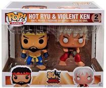 Funko Pop 30th Anniversary Street Fighter Hot Ryu e Violent Ken -