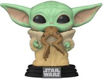 Funko Pop Baby Yoda 379 The Child w Frog - Star Wars The Mandalorian -