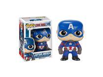 Funko Pop Capitão América Guerra Civil 125 Marvel -