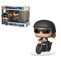 Funko Pop Carol Danvers na moto - versão Filme Capitã Marvel -