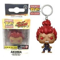 Funko Pop Chaveiro Akuma Street Fighter Exclusivo GameStop -
